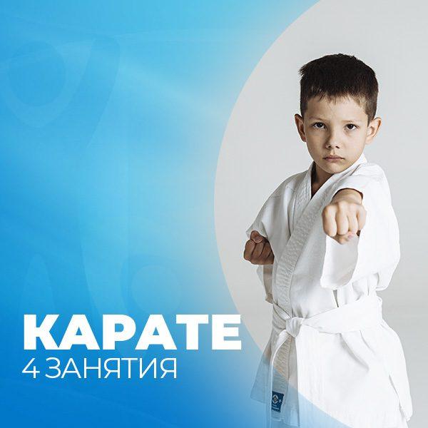 карате 4 занятия фитнес-клуб Зарядка Екатеринбург